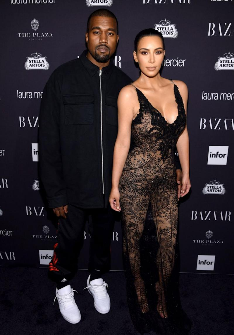 Could Kanye West be writing a breakup album given recent Kim Kardashian divorce rumour? Source: Getty