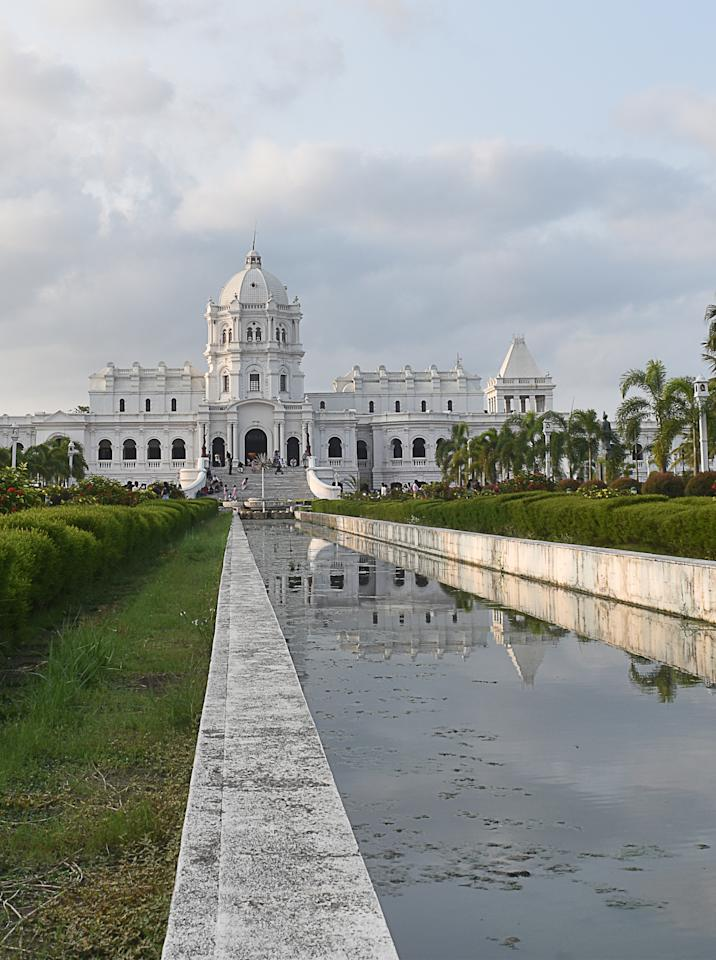 It was the home of the ruling Manikya dynasty until Tripura's merger into India in October 1949.