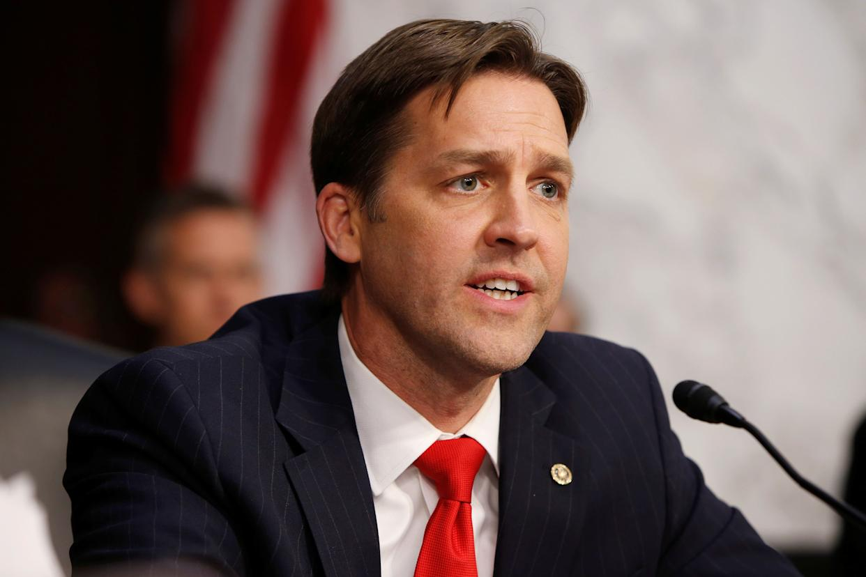 Sen. Ben Sasse (R-Neb.) schooled President Donald Trump in a statement on justice after Trump blasted Attorney General Jeff Sessions on Sept. 3 for bringing criminal charges against Republicans. (Photo: Reuters / Joshua Roberts)