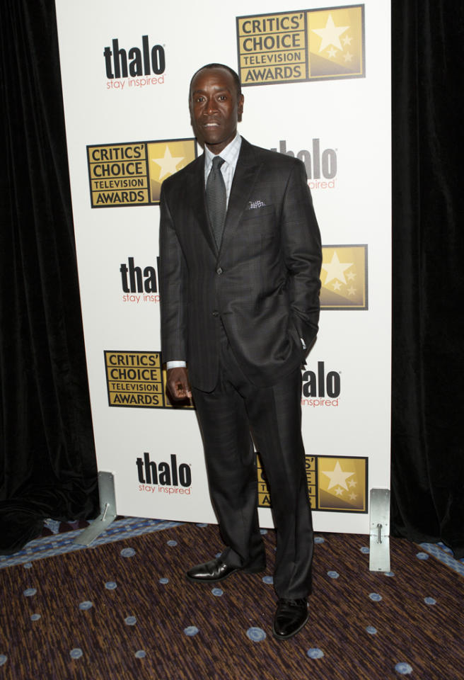 Don Cheadle attends the 2012 Critics' Choice Television Awards at The Beverly Hilton Hotel on June 18, 2012 in Beverly Hills, California.