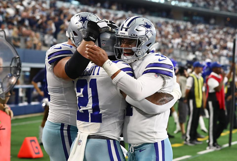The Dallas Cowboys have covered their first five games of the season. (Matthew Emmons/USA TODAY Sports)