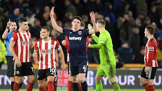 After a contentious call cost West Ham against Sheffield United, Declan Rice has claimed Premier League players do not want VAR in the game.