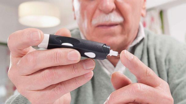 PHOTO: Testing blood sugar level in an undated stock photo. (STOCK PHOTO/Glow Wellness via Getty Images)