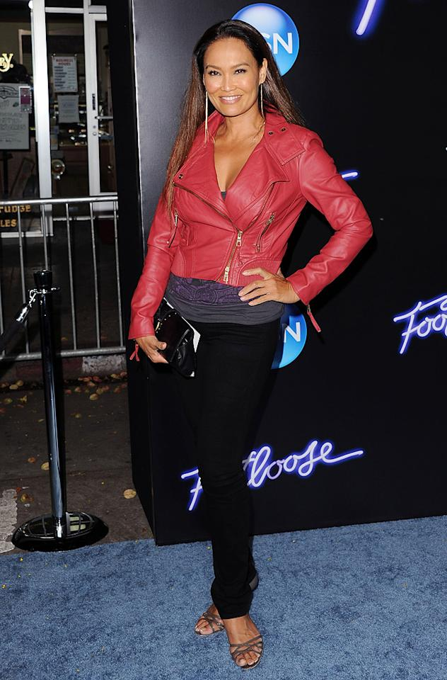 """<a href=""""http://movies.yahoo.com/movie/contributor/1800019767"""">Tia Carrere</a> at the Los Angeles premiere of <a href=""""http://movies.yahoo.com/movie/1810164562/info"""">Footloose</a> on October 3, 2011."""