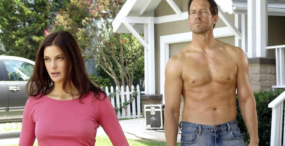 Teri Hatcher and James Denton on 'Desperate Housewives.'