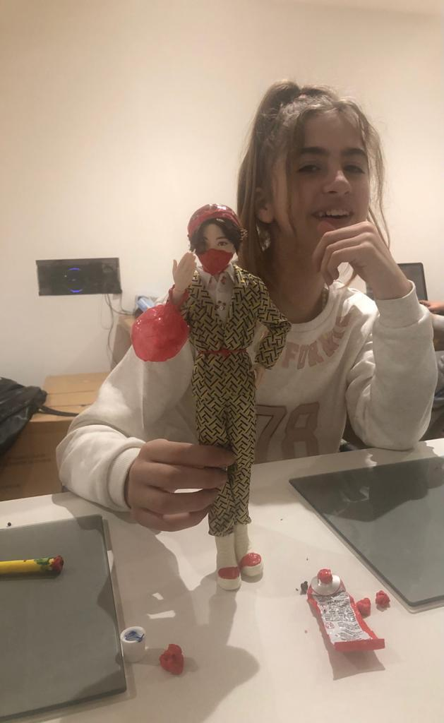 Poppy seen playing with a doll at homeMet Police