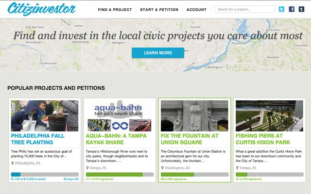 Citizinvestor Helps Grab The Ears of Local Governments