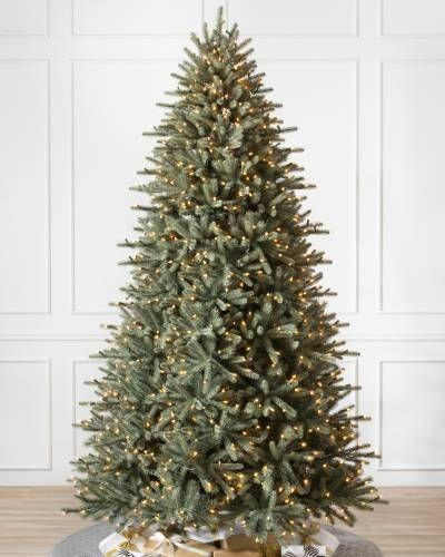 """<p><strong>Balsam Hill</strong></p><p>balsamhill.com</p><p><strong>$1299.00</strong></p><p><a href=""""https://www.balsamhill.com/p/bh-blue-spruce-artificial-christmas-flip-tree"""" rel=""""nofollow noopener"""" target=""""_blank"""" data-ylk=""""slk:Shop Now"""" class=""""link rapid-noclick-resp"""">Shop Now</a></p><p>If you're looking to get the most realistic fake Christmas tree possible, check out <a href=""""https://www.balsamhill.com/c/most-realistic-artificial-christmas-trees"""" rel=""""nofollow noopener"""" target=""""_blank"""" data-ylk=""""slk:Balsam Hill's &quot;Most Realistic&quot; collection"""" class=""""link rapid-noclick-resp"""">Balsam Hill's """"Most Realistic"""" collection</a>. Their Blue Spruce Flip Tree in particular is a stunner, with its impressive array of mixed branch tips that are hand-painted for an uncannily authentic look. </p><p>This artificial Christmas tree is available in a range of heights from 7 to 10 feet tall and prelit with white and multicolored LEDs for each height. This model is also very easy to assemble, using Balsam Hill's unique """"flip tree"""" technology. Its two pieces fit together easily for a no-hassle setup.<br></p><p><strong>More:</strong> <a href=""""https://www.bestproducts.com/lifestyle/g291/tiny-stocking-stuffers-for-everyone/"""" rel=""""nofollow noopener"""" target=""""_blank"""" data-ylk=""""slk:The Best Stocking Stuffer Ideas for Literally Everyone on Your List"""" class=""""link rapid-noclick-resp"""">The Best Stocking Stuffer Ideas for Literally Everyone on Your List</a></p>"""
