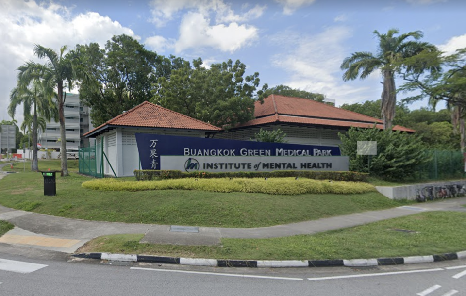 The Institute of Mental Health. (PHOTO: Google Street View)