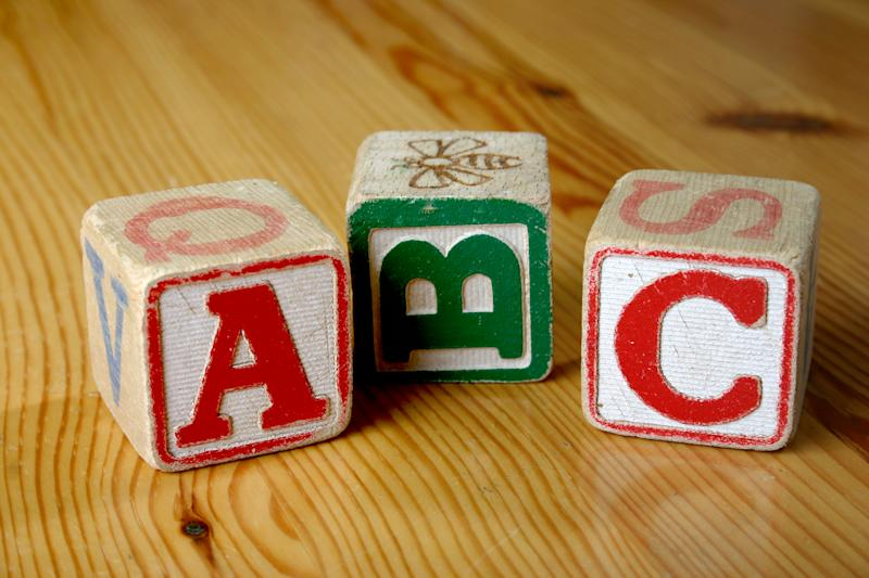 A new version of the alphabet song which slows down the LMNOP part hasn't gone down well with the Internet [Photo: Getty]