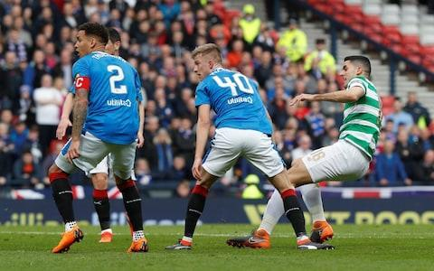Double treble is on as Celtic crush Rangers 4-0 in Scottish Cup semi-final