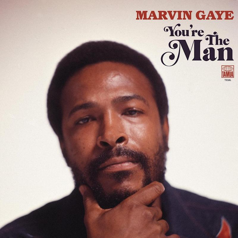 Marvin Gaye You're the Man cover.