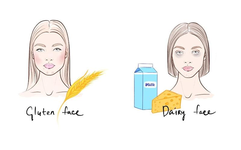 Did you know that our favourite treats – yes, that means wine, cheese, choc – can have a noticeable impact on our appearance? Brace yourself... - illustrations: lena ker