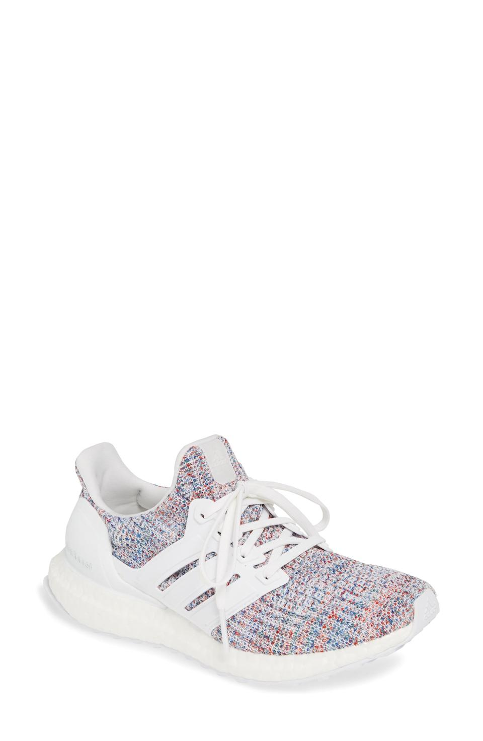 """<p><strong>Adidas</strong></p><p>adidas.com</p><p><strong>$180.00</strong></p><p><a href=""""https://go.redirectingat.com?id=74968X1596630&url=https%3A%2F%2Fwww.adidas.com%2Fus%2Fultraboost-20-shoes%2FFX8277.html&sref=https%3A%2F%2Fwww.harpersbazaar.com%2Fbeauty%2Fhealth%2Fg23900366%2Fbest-fitness-gifts-ideas%2F"""" rel=""""nofollow noopener"""" target=""""_blank"""" data-ylk=""""slk:Shop Now"""" class=""""link rapid-noclick-resp"""">Shop Now</a></p><p>The Adidas Ultra Boost is the only lightweight running shoe you need in your arsenal. </p>"""