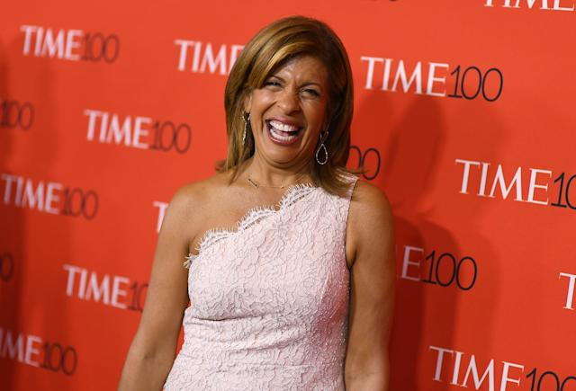 Hoda Kotb attends the TIME 100 Gala celebrating its annual list of the 100 Most Influential People In The World at Frederick P. Rose Hall, Jazz at Lincoln Center on April 24, 2018 in New York City. (Photo: Getty Images)