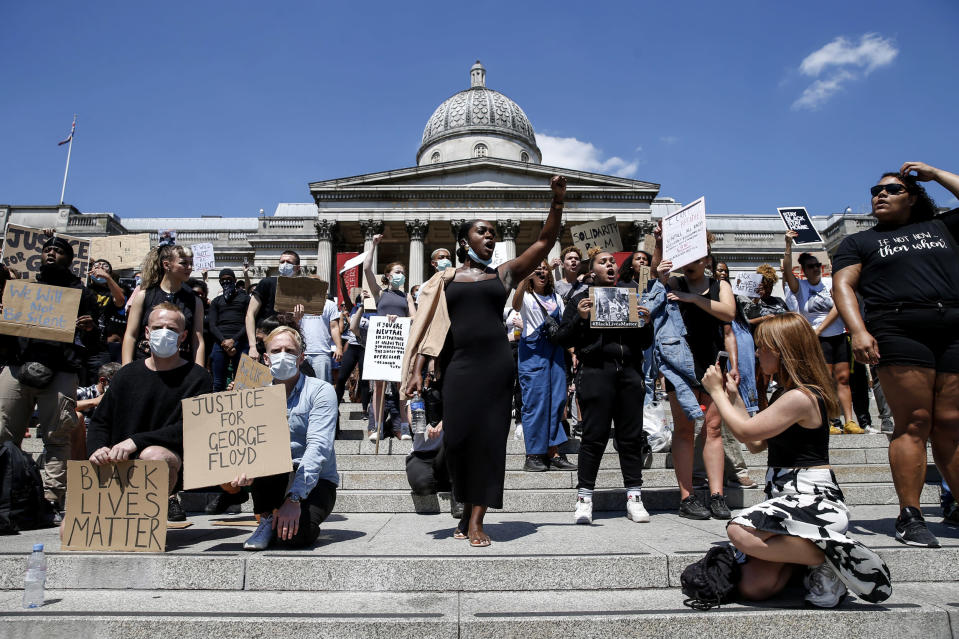 Image: Protest in London (Hollie Adams / Getty Images)
