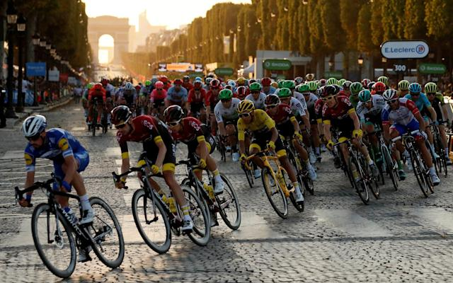 This year's race had already been rearranged once to start on Aug 29 - REUTERS