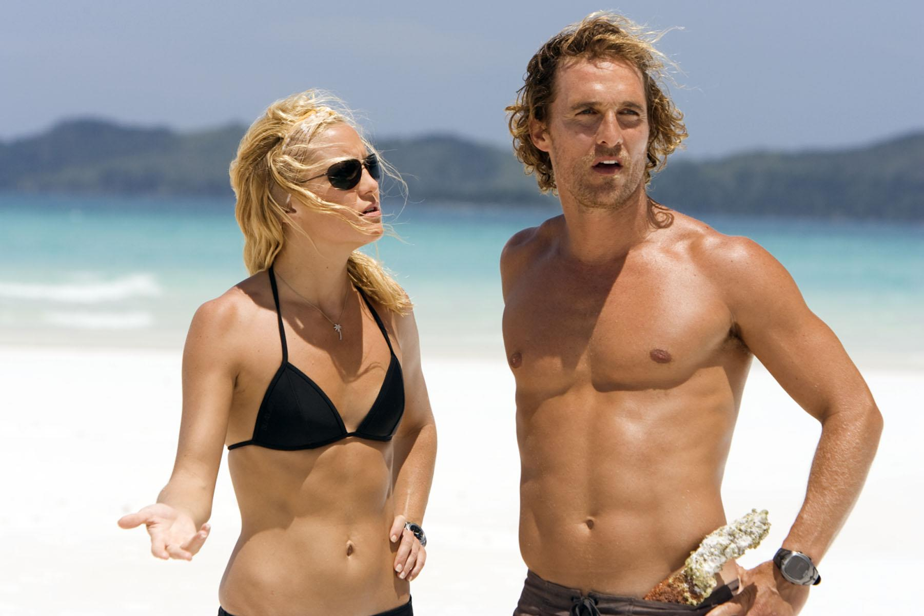 """Kate Hudson and Matthew McConaughey star in the 2008 movie """"Fool's Gold."""" (Photo: ©Warner Bros./courtesy Everett Collection)"""