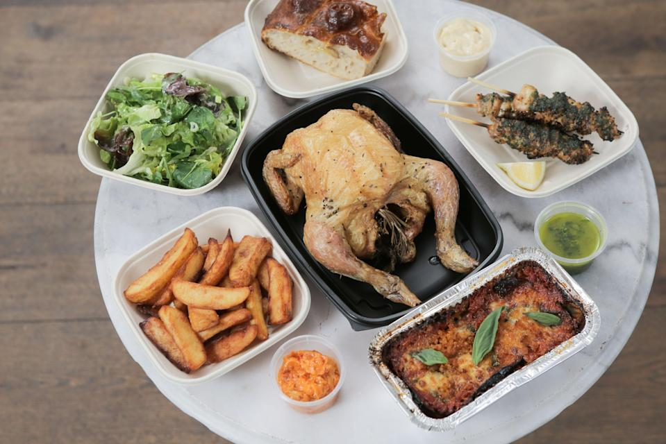 <p>Top bird: the Italian-inspired delivery led to many hungry third-helpings</p> (Matt Writtle)
