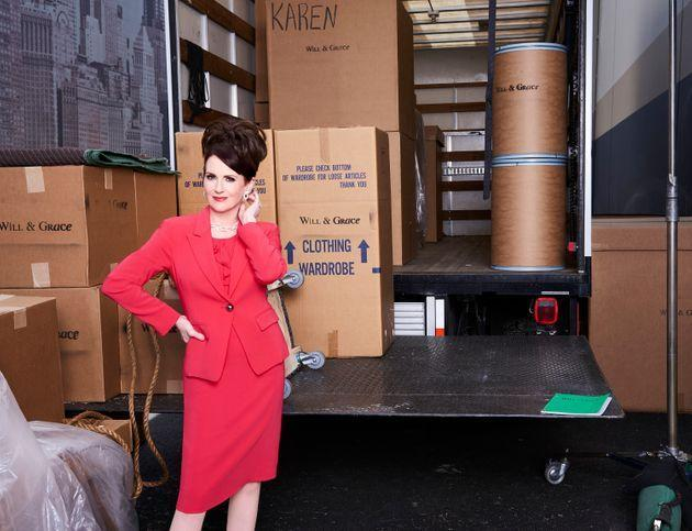 Megan Mullally played Karen Walker in all 11 seasons of Will & Grace (Photo: NBC via Getty Images)