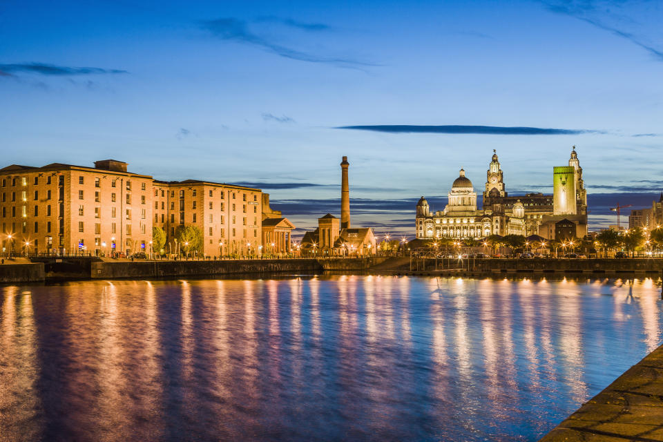 Liverpool is in the North West, which has been deemed the most affordable region to buy in right now. (Getty Images)