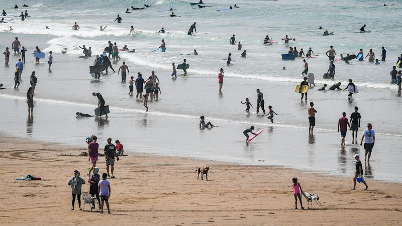 More than 70% of English beaches rated 'excellent' for water quality
