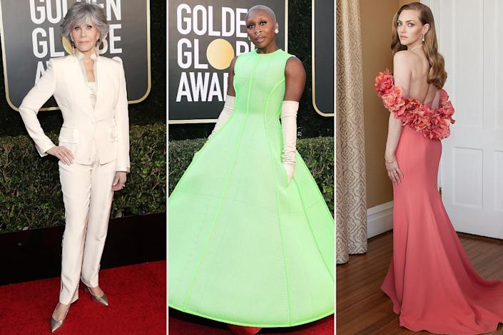 Fun Facts About Your Favorite Golden Globes Looks — Straight from Celeb Stylists and Glam Pros