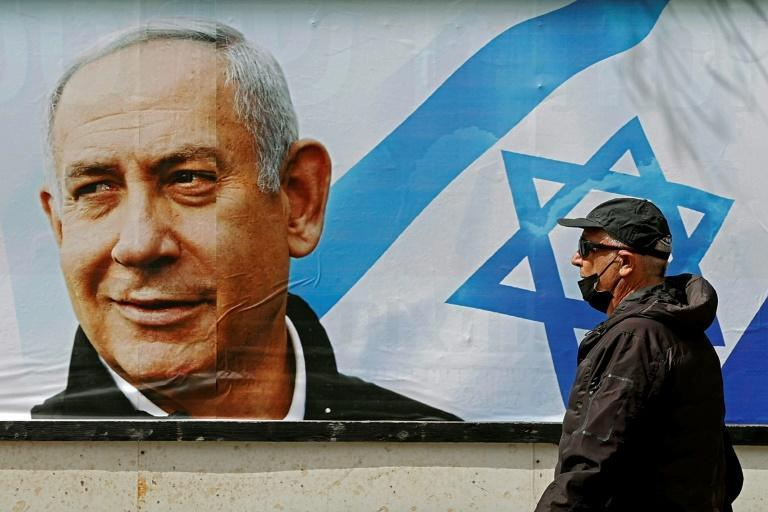 Prime Minister Benjamin Netanyahu is facing his fourth re-election contest in less than two years