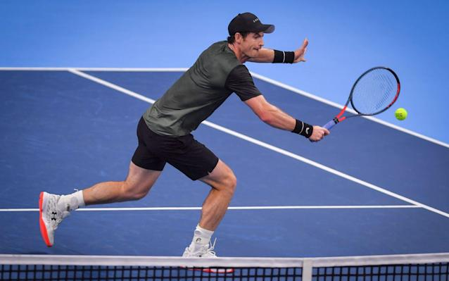 Andy Murray continues his fine form at the European Open - AFP