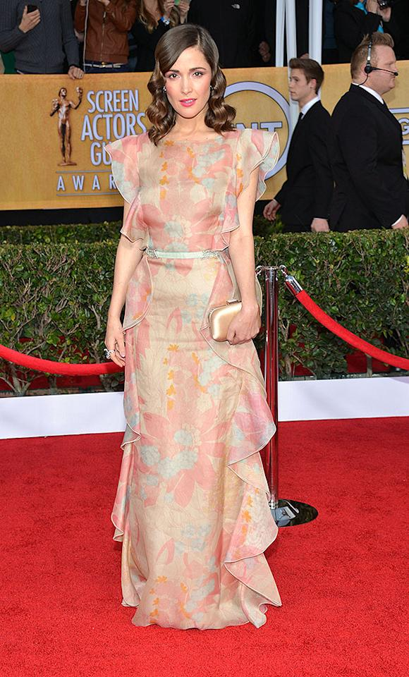 LOS ANGELES, CA - JANUARY 27: Actress Rose Byrne attends the 19th Annual Screen Actors Guild Awards at The Shrine Auditorium on January 27, 2013 in Los Angeles, California. (Photo by Larry Busacca/WireImage) 23116_018_1532.JPG *** Local Caption *** Rose Byrne