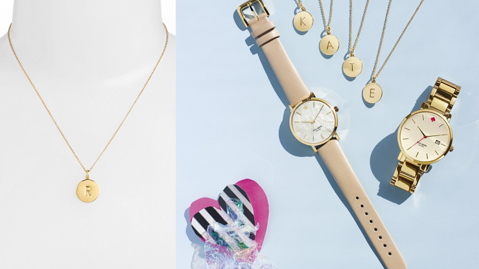 Best gifts under $100: Kate Spade necklace.