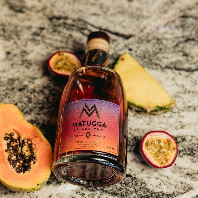 """<p>Paul and Jacine Rutasikwa launched their brand with the aim of incorporating the richest and most unique flavours of East Africa into their rum, including black tea, ginger, cloves, vanilla, cardamom, and cinnamon. Their artisan spirits are carefully crafted in Scotland through small-batch copper pot distillation and meticulously crafted with the aim of being the smoothest of the smooth.</p><p><a class=""""link rapid-noclick-resp"""" href=""""https://www.matuggarum.com/store"""" rel=""""nofollow noopener"""" target=""""_blank"""" data-ylk=""""slk:SHOP NOW"""">SHOP NOW</a></p><p><a href=""""https://www.instagram.com/p/CSuW70YLBFO/"""" rel=""""nofollow noopener"""" target=""""_blank"""" data-ylk=""""slk:See the original post on Instagram"""" class=""""link rapid-noclick-resp"""">See the original post on Instagram</a></p>"""