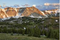 "<p><strong>The Drive:</strong> <a href=""http://www.travelwyoming.com/listing/centennial/snowy-range-scenic-byway"" rel=""nofollow noopener"" target=""_blank"" data-ylk=""slk:Snowy Range Scenic Byway"" class=""link rapid-noclick-resp"">Snowy Range Scenic Byway</a></p><p><strong>The Scene:</strong> As the second highest highway in the state, this byway crosses from Interstate 80 about 20 miles east of Rawlins through jaw-dropping alpine habitats. </p><p><strong>The Pit-Stop:</strong> Stop in the tiny town of Centennial to take a break and grab a bite. </p>"