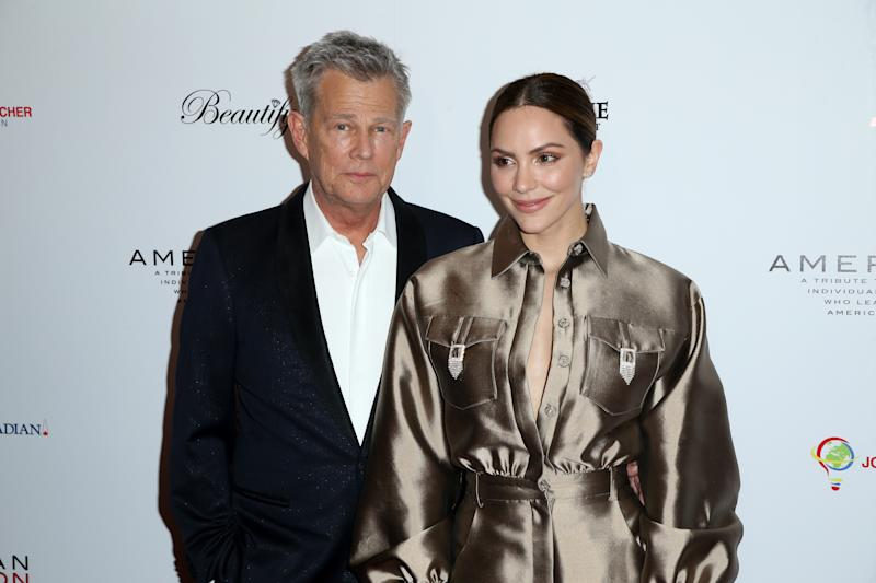 It S Official Katharine Mcphee Marries David Foster