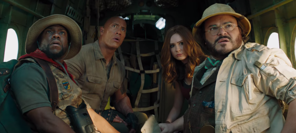<i>Jumanji: The Next Level</i> is in cinemas this Christmas. (Sony Pictures)