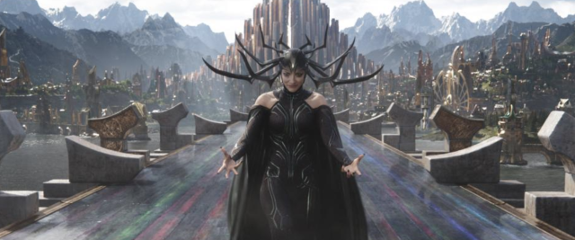 Cate Blanchett in <em>Thor: Ragnarok</em>. (Photo: Marvel Studios)
