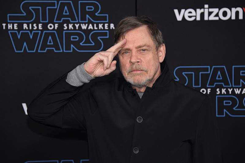 "Cast member Mark Hamil attends the premiere of ""Star Wars: The Rise of Skywalker"" in Los Angeles, California, U.S. December 16, 2019. REUTERS/Phil McCarten"