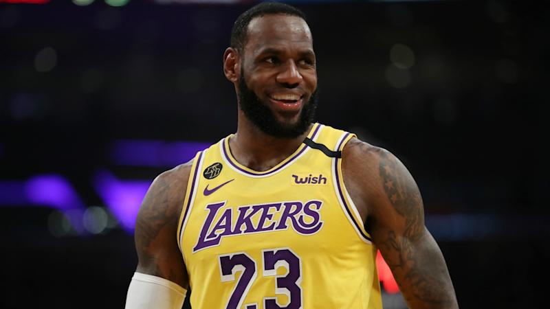 LeBron James not disappointed with early end to NBA's MVP race
