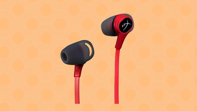 Save $10 on these Nintendo Switch earbuds. (Photo: GameStop)