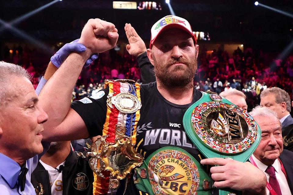 Tyson Fury remains the WBC, Ring and Lineal heavyweight champion of the world  (Getty Images)
