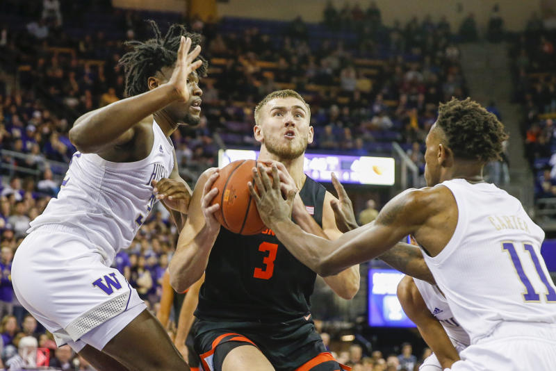Battle-tested Oregon State routed on the road after slow start against UW