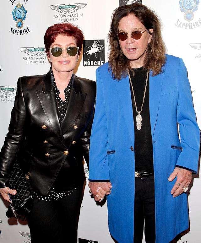 "<p>Sharon shocked fans in May 2016, when she appeared to confirm headlines that she and Ozzy had split after 33 years of marriage because of his affair with a hairdresser. On her show <i>The Talk</i>, Sharon explained that she had left the home she shared with the rocker. ""It's right for me because I honestly at this point today have no idea what I'm going to be doing with the rest of my life,"" she shared. ""I don't know where I'm going, who I'm going with. And I just need time to think."" Two months later, however, Ozzy confirmed that the two were ""<a href=""https://www.yahoo.com/celebrity/ozzy-osbourne-calls-cheating-rumors-144943764.html"" data-ylk=""slk:back on track again"" class=""link rapid-noclick-resp"">back on track again</a>."" (Photo: Tibrina Hobson/WireImage) </p>"