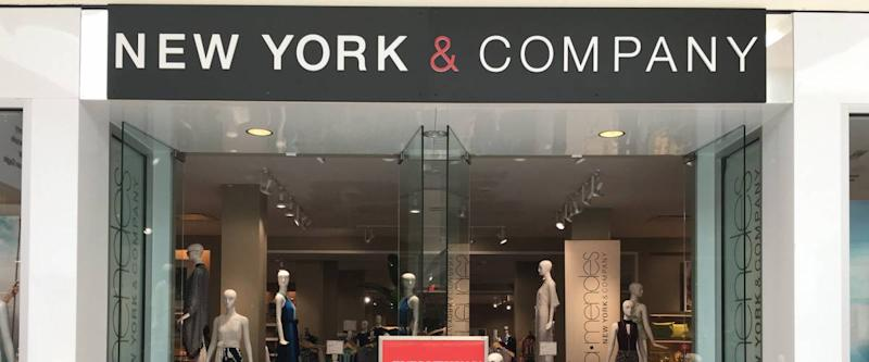 New York & Co store at Dadeland Mall in Miami
