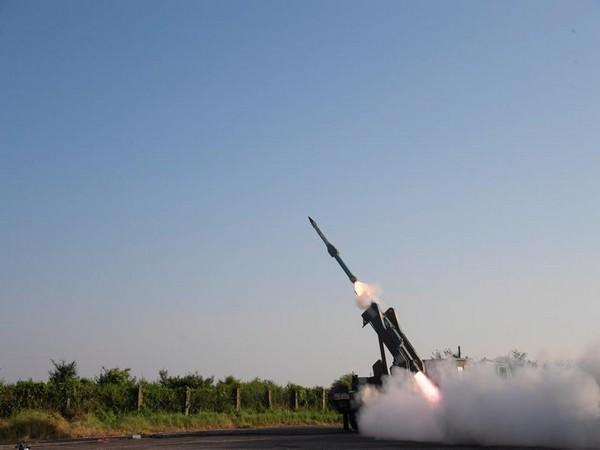 The missile launch took place from ITR Chandipur at 3.42 PM off the Odisha coast.