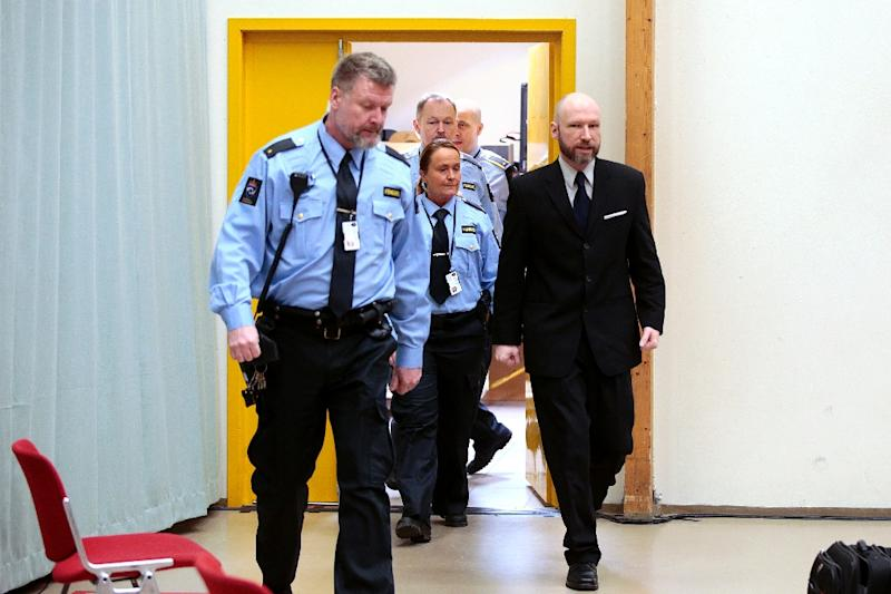 Breivik said he killed his victims because they embraced multiculturalism (AFP Photo/LISE AARESUD)