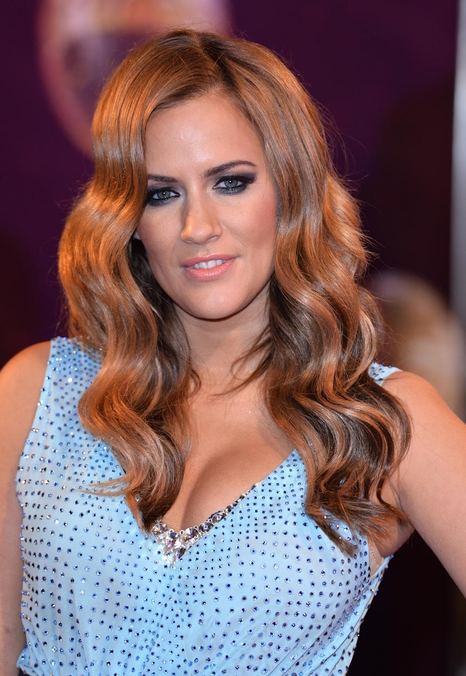 Caroline Flack pictured in 2014, the year she won Strictly Come Dancing in the UK. (Photo by Karwai Tang/WireImage)
