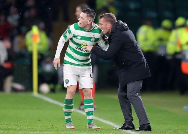 Brendan Rodgers worked with Callum McGregor at Celtic