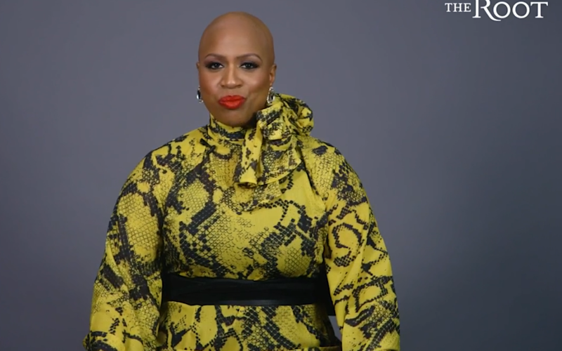 Ayanna Pressley reveals she has the hair-loss condition alopecia in an interview with The Root.