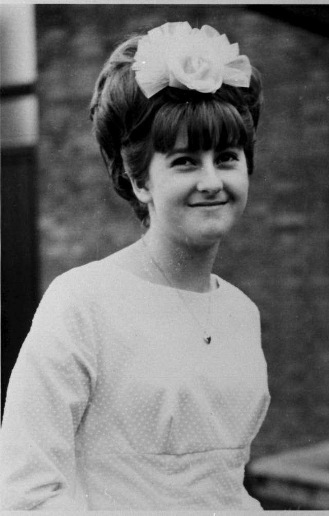 Mary Bastholm, 15, was last seen alive in 1968 and has long suspected of being a victim of serial killer Fred West (Family/PA).