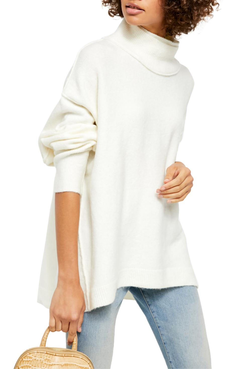 Free People Afterglow Mock Neck Top. Image via Nordstrom.